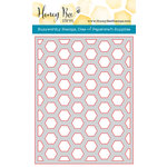 Honey Bee Stamps - Honey Cuts - Steel Craft Dies - Hexagon Cover Plate Middle