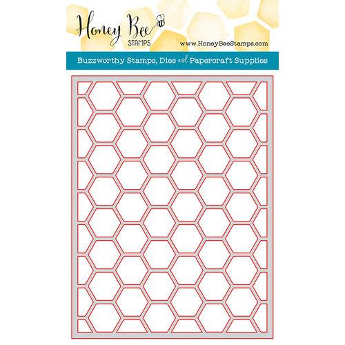 Honey Bee Stamps - Honey Cuts - Steel Craft Dies - Hexagon Cover Plate Top