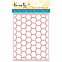 Honey Bee Stamps - Honey Cuts - Steel Craft Dies - Hexagon Cover Plate Top