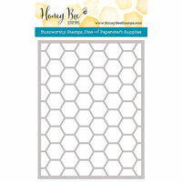 Honey Bee Stamps - Honey Cuts - Steel Craft Dies - Hexagon Cover Plate Stipple