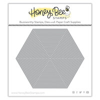 Honey Bee Stamps - Paradise Collection - Dies - Hexagon Thin Frames
