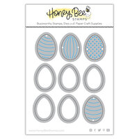 Honey Bee Stamps - Dies - Honey Cuts - Itty Bitty Eggs