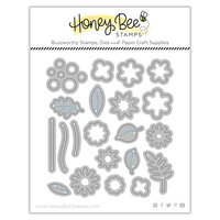 Honey Bee Stamps - Autumn Splendor Collection - Honey Cuts - Steel Craft Dies - Itty Bitty Fall Flowers