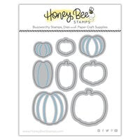 Honey Bee Stamps - Dies - Honey Cuts - Itty Bitty Pumpkins