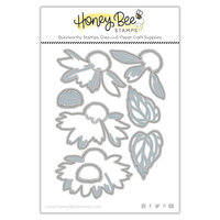 Honey Bee Stamps - Summer Stems Collection - Honey Cuts - Steel Craft Dies - Lovely Layers - Coneflower