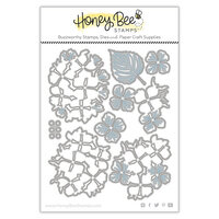 Honey Bee Stamps - Let's Celebrate Collection - Dies - Honey Cuts - Lovely Layers Hydrangea