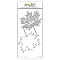 Honey Bee Stamps - Dies - Honey Cuts - Lovely Layers - Maple Leaf