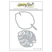 Honey Bee Stamps - Paradise Collection - Dies - Lovely Layers - Monstera Leaf