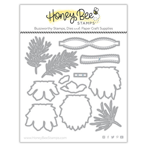 Honey Bee Stamps - Dies - Lovely Layers Pinecone
