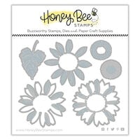 Honey Bee Stamps - Autumn Splendor Collection - Honey Cuts - Steel Craft Dies - Lovely Layers - Sunflowers