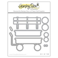 Honey Bee Stamps - Dies - Honey Cuts - Little Red Wagon