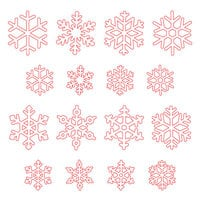 Honey Bee Stamps - Christmas - Honey Cuts - Steel Craft Dies - Layering Snowflakes