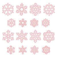 Honey Bee Stamps - Christmas - Honey Cuts - Steel Craft Dies - Layering Snowflakes