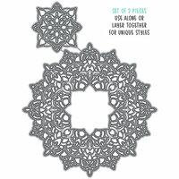 Honey Bee Stamps - Honey Cuts - Steel Craft Dies - Mandala Here For You