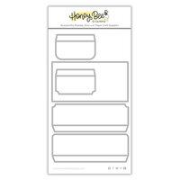 Honey Bee Stamps - Honey Cuts - Steel Craft Dies - Mini Slimline Envelope