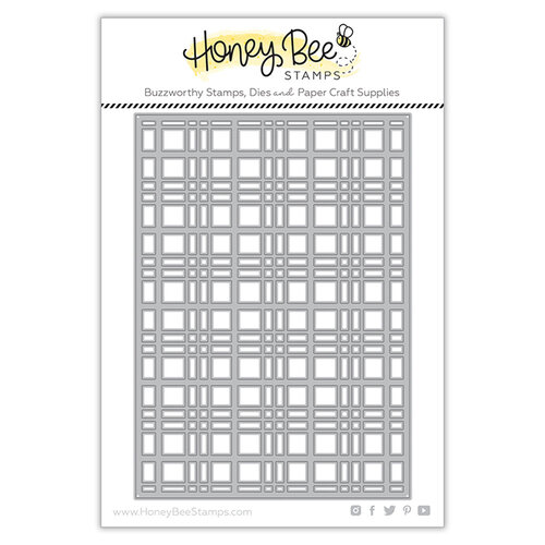Honey Bee Stamps - Dies - Plaid Cover Plate Top