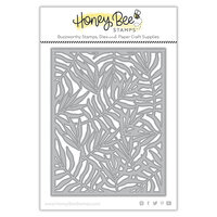 Honey Bee Stamps - Paradise Collection - Dies - Palm Fond Cover Plate