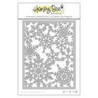 Honey Bee Stamps - Vintage Holiday Collection - Honey Cuts - Steel Craft Dies - Pierced Fancy Flakes A2 Cover Plate
