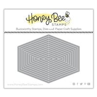 Honey Bee Stamps - Honey Cuts - Steel Craft Dies - Polygon Thin Frames