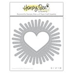 Honey Bee Stamps - Love Letters Collection - Dies - Honey Cuts - Radiant Heart