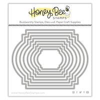 Honey Bee Stamps - Honey Cuts - Steel Craft Dies - Stacking Art Deco Labels