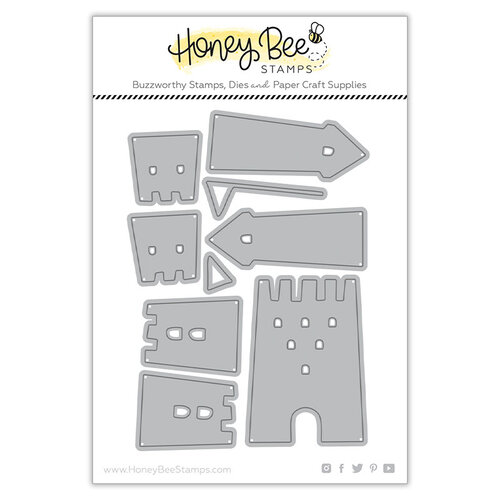Honey Bee Stamps - Paradise Collection - Dies - Sand Castle Builder