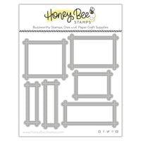 Honey Bee Stamps - Honey Cuts - Steel Craft Dies - Sentiment Frames
