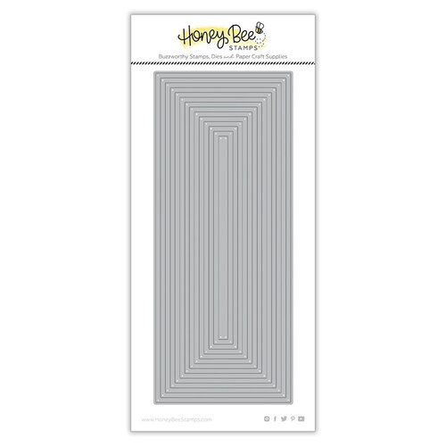 Honey Bee Stamps - Paradise Collection - Dies - Slimline Thin Frames