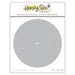 Honey Bee Stamps - Honey Cuts - Steel Craft Dies - Sweet Stacks - Circles