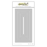 Honey Bee Stamps - Honey Cuts - Steel Craft Dies - Sweet Stacks - Mini Slimline