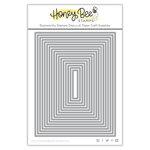 Honey Bee Stamps - Honey Cuts - Steel Craft Dies - Sweet Stacks - Rectangles
