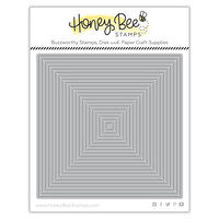 Honey Bee Stamps - Honey Cuts - Steel Craft Dies - Square Thin Frames