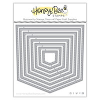Honey Bee Stamps - Bee Mine Collection - Honey Cuts - Steel Craft Dies - Stacking Pockets