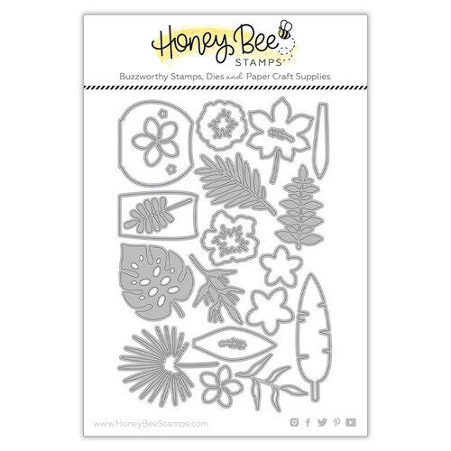 Honey Bee Stamps - Paradise Collection - Dies - Tropical Banquets