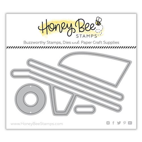 Honey Bee Stamps - Honey Cuts - Steel Craft Dies - Wheelbarrow