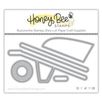 Honey Bee Stamps - Dies - Honey Cuts - Wheelbarrow