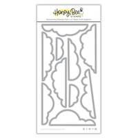 Honey Bee Stamps - Love Letters Collection - Dies - Honey Cuts - Whispy Clouds