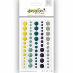 Honey Bee Stamps - Enamel Stickers - The Bee's Knees