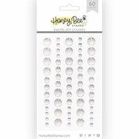 Honey Bee Stamps - Enamel Stickers - Glitter