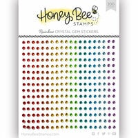 Honey Bee Stamps - Gem Stickers - Rainbow