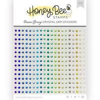 Honey Bee Stamps - Gem Stickers - Ocean Breeze Crystal