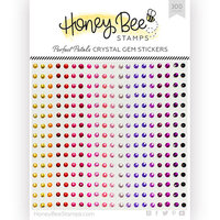 Honey Bee Stamps - Gem Stickers - Perfect Petals Crystal