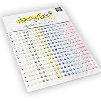 Honey Bee Stamps - Gem Stickers - Log Cabin