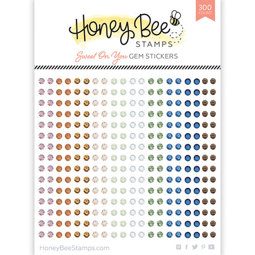 Honey Bee Stamps - Gem Stickers - Sweet On You