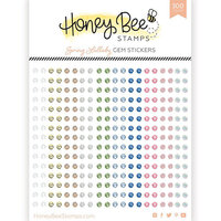 Honey Bee Stamps - Gem Stickers - Spring Lullaby