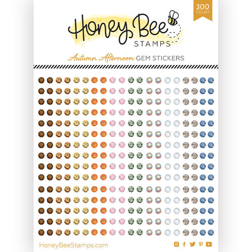 Honey Bee Stamps - Gem Stickers - Autumn Afternoon