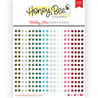 Honey Bee Stamps - Gem Stickers - Holiday Cheer
