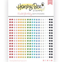 Honey Bee Stamps - Let's Celebrate Collection - Gem Stickers - Funfetti Birthday