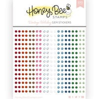 Honey Bee Stamps - Vintage Holiday Collection - Gem Stickers