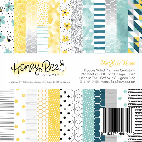 Honey Bee Stamps The Bees Knees 6x6